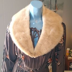 Vintage Estate Fur Collar